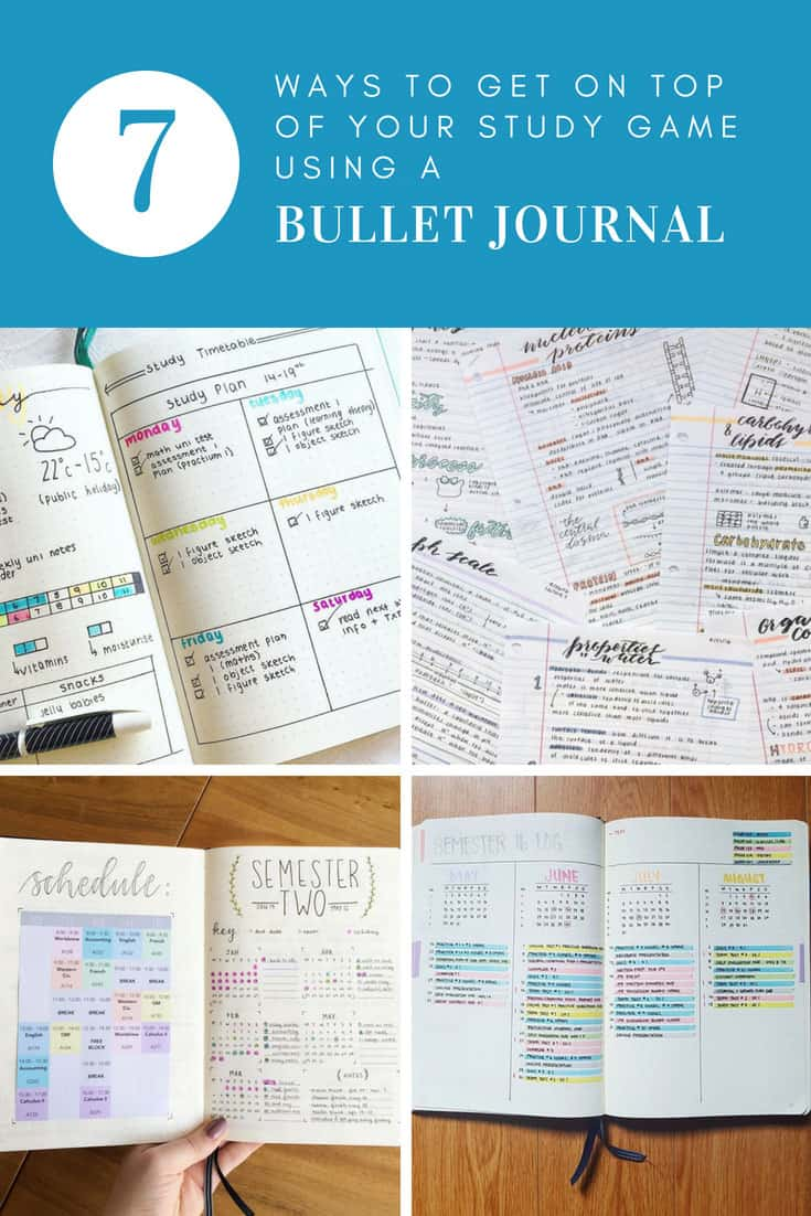 School Bullet Journal Layouts and Ideas