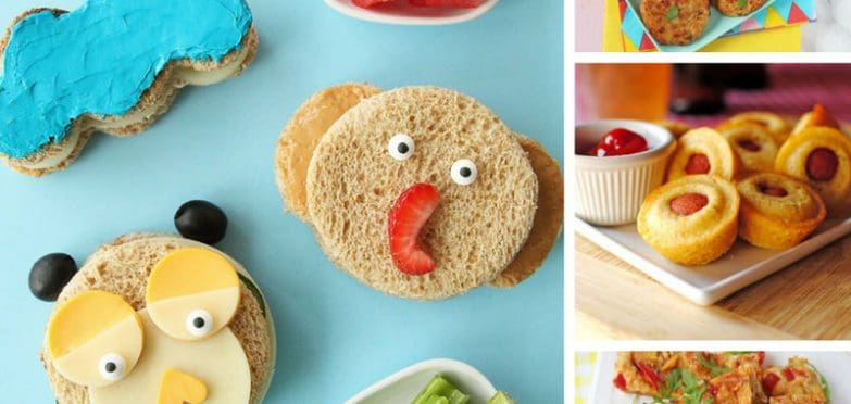 The kids love these lunch ideas and they're really easy to prepare too!