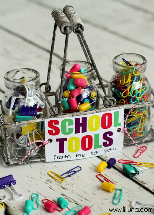 School Tools Teacher Gift