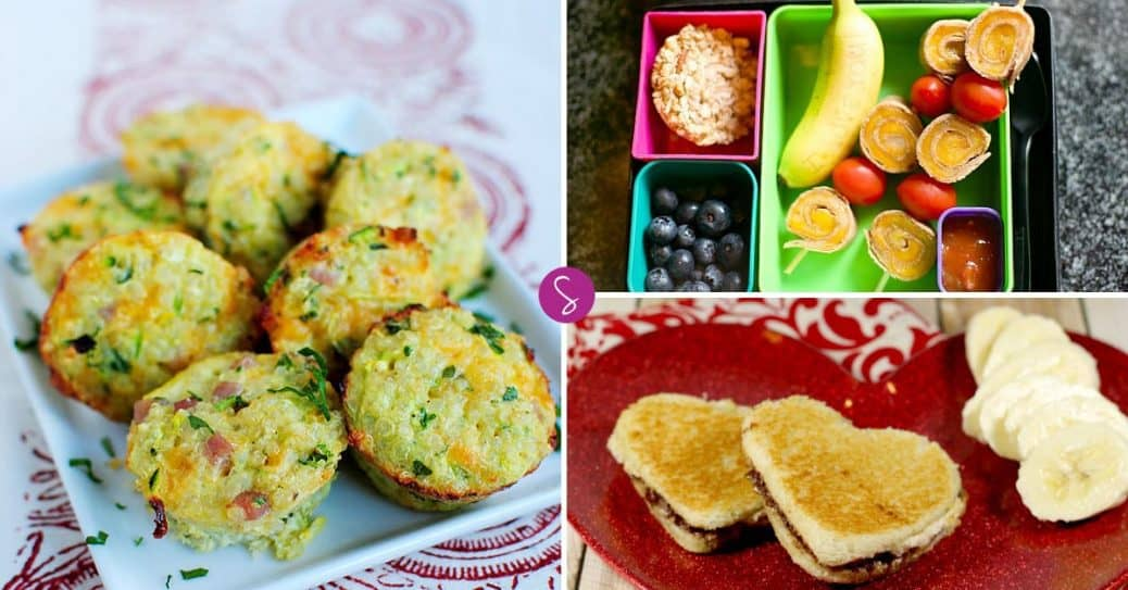 School Lunch Ideas for Kids - One Whole Month of Ideas with No Repeats!