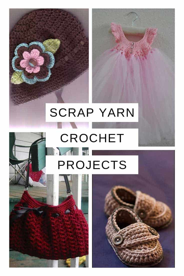 Scrap Yarn Crochet Projects