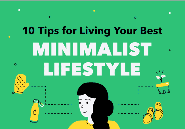 Top tips for living a minimalist lifestyle