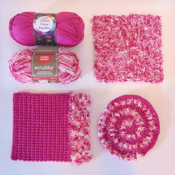 Scrubbie Crochet Patterns