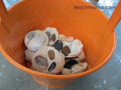 Sea shell salt dough