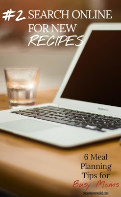 Search for new recipes