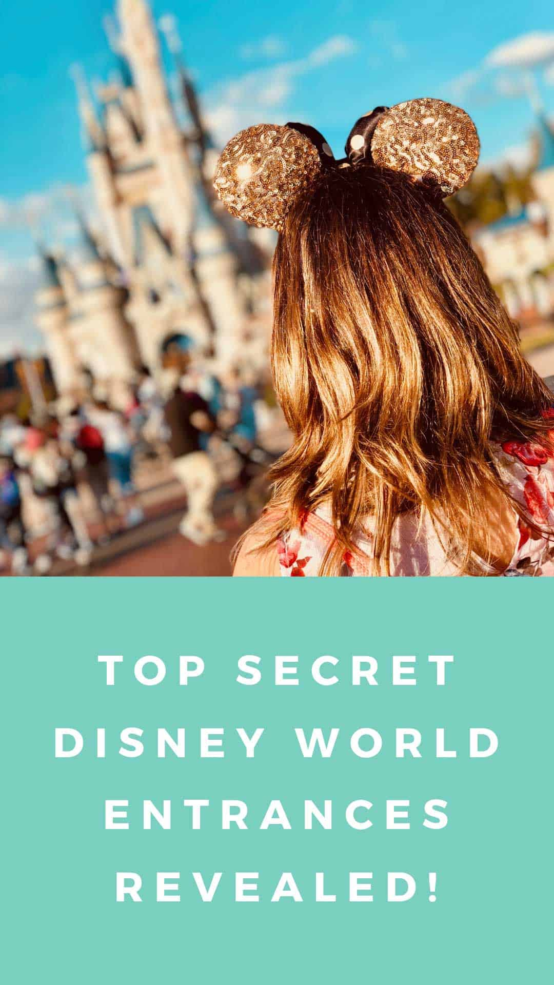 You do not want to head out to Disney World without reading about our secret entrances to Epcot, Magic Kingdom, Animal Kingdom and Hollywood Studios! #disneyworld