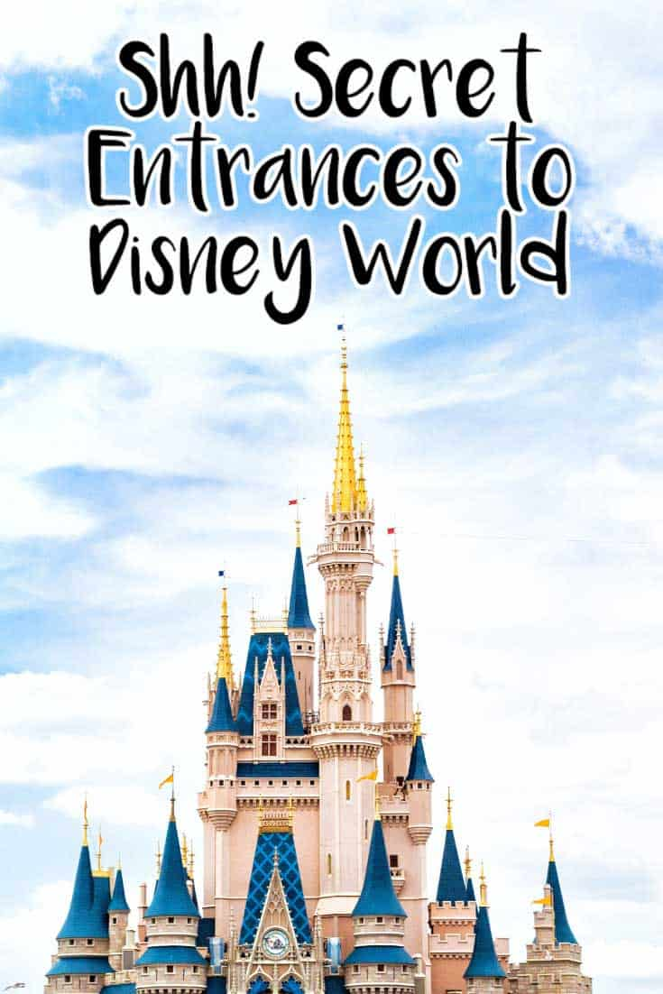 Can you keep a secret? We've got the secret ways to get into the Disney themeparks to save you time and make you feel like a VIP!