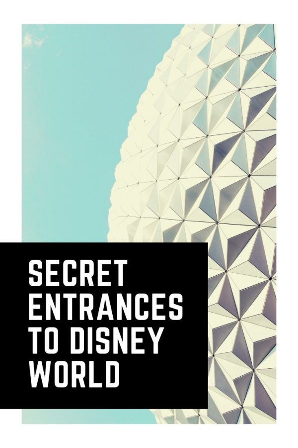 Shh these secret entrances to Disney World will save you so much time!