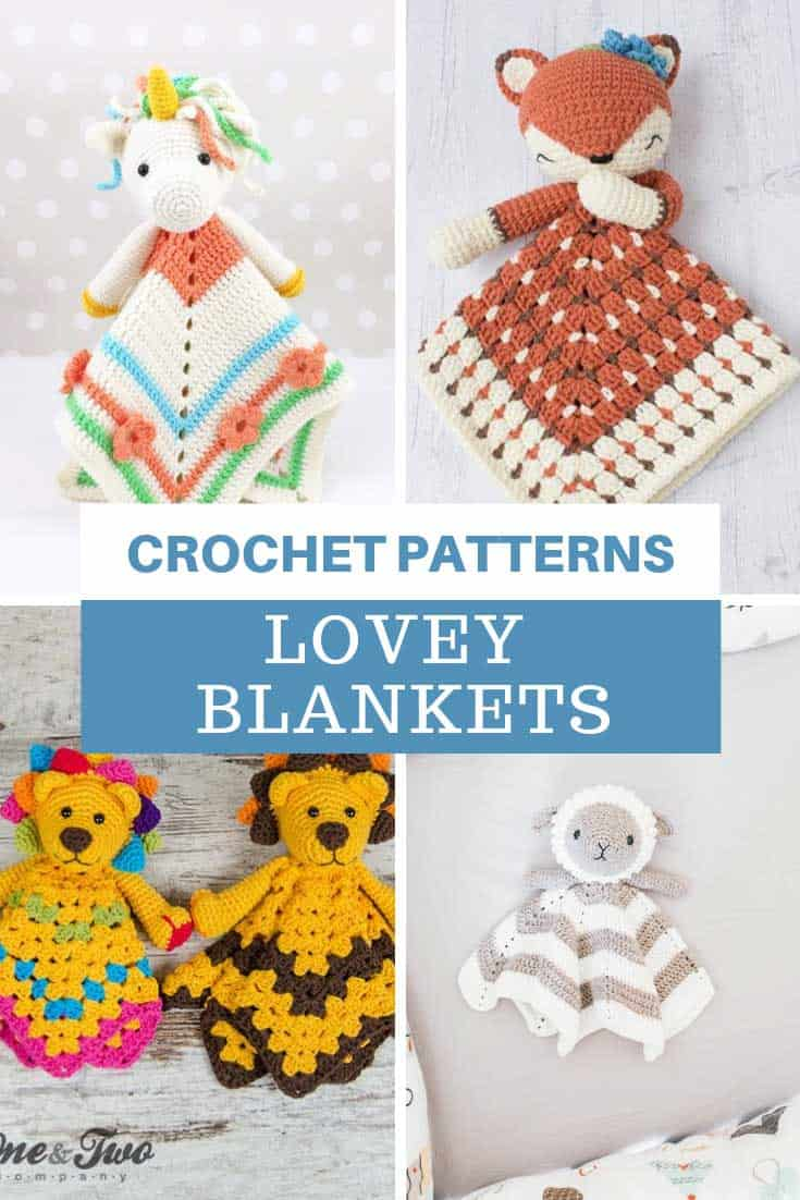 Loving these security blanket crochet patterns!