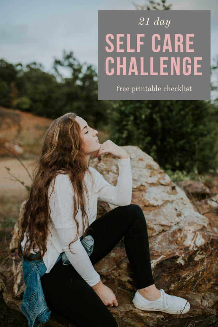 Take the 21 day self care challenge to give you the momentum to win the battle against stress in your life