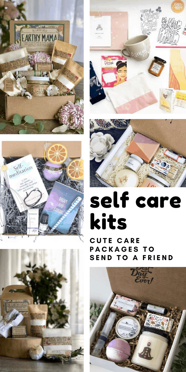 These self care kits are gorgeous! And filled with things to help us take care of ourselves and our mental health and wellbeing.