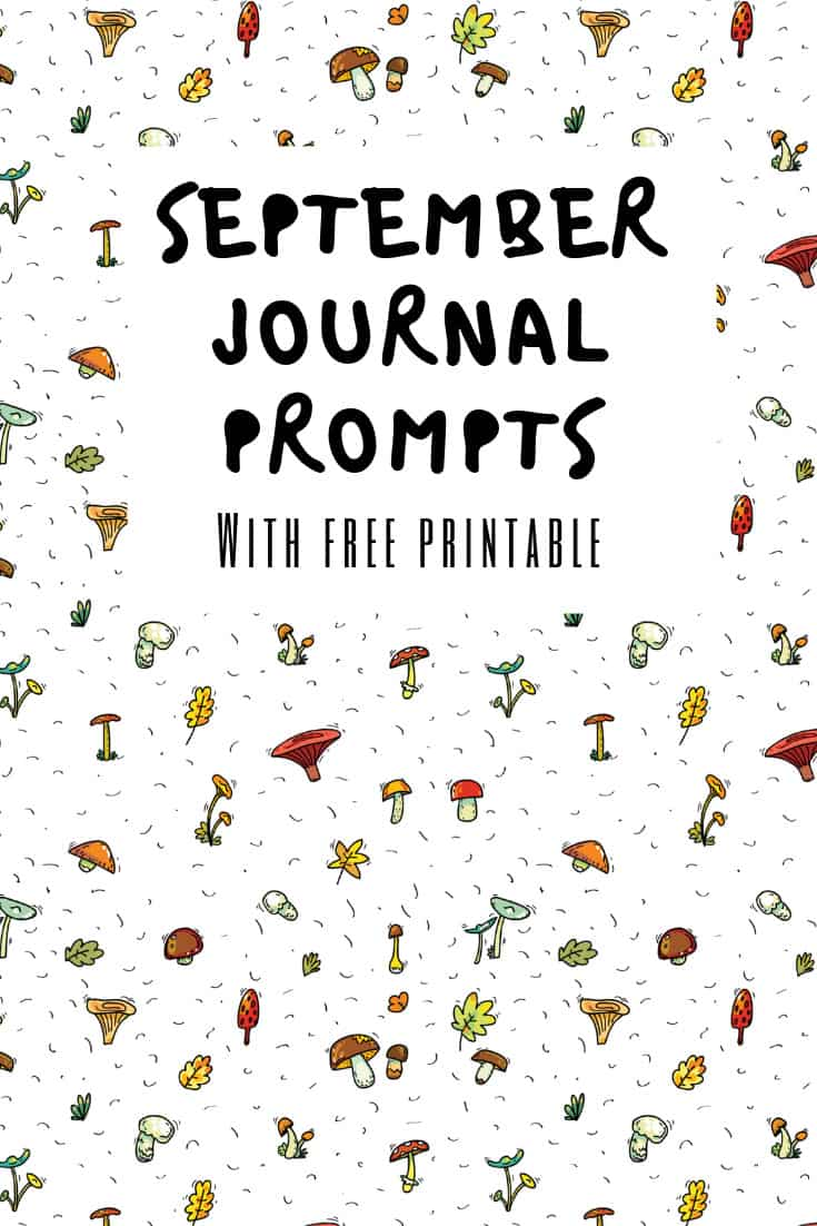 Get ready for journaling with these September writing prompts to inspire you! #bulletjournal #journalling