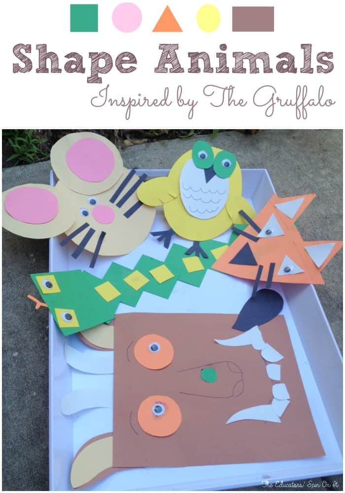 Shape Activities Gruffalo
