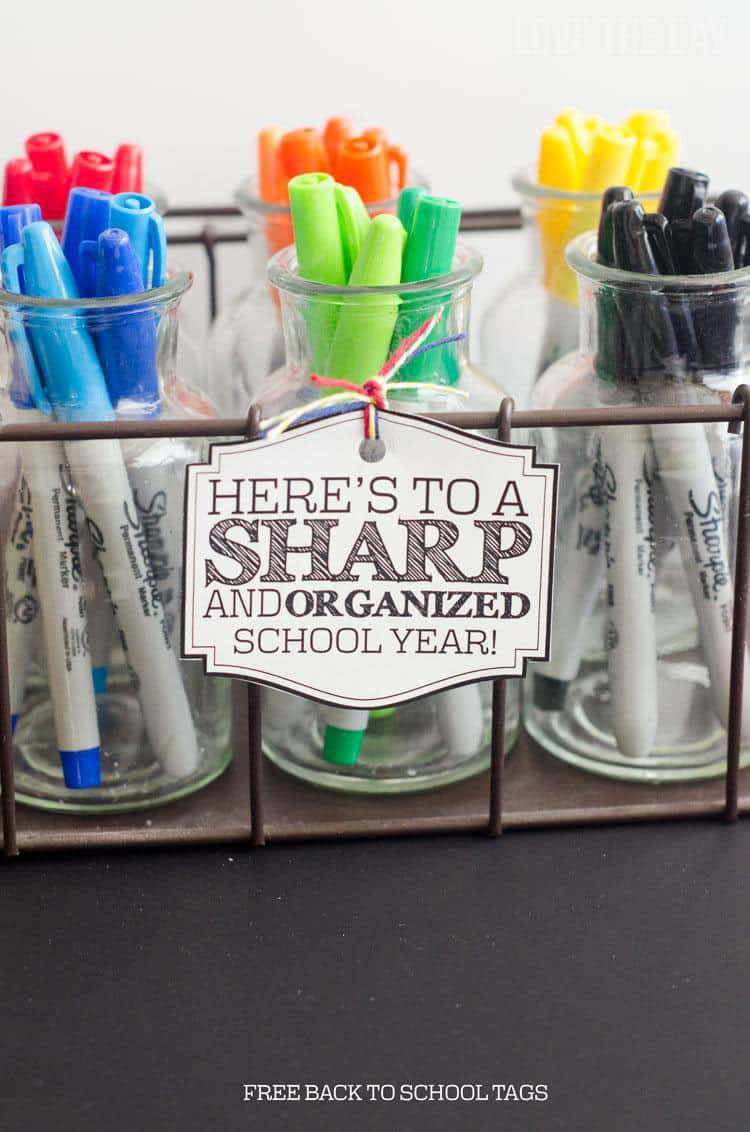 Sharpie Teacher Gift
