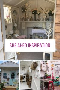These She Shed ideas are FABULOUS! Thanks for sharing!