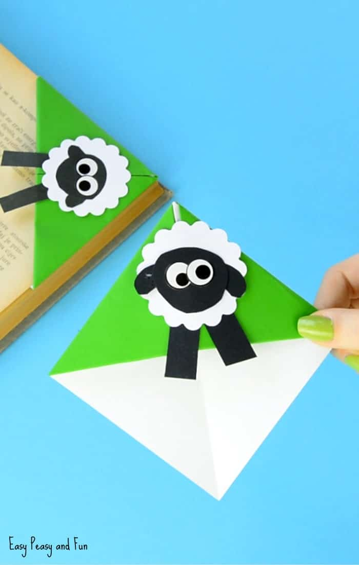 Origami Sheep Bookmark