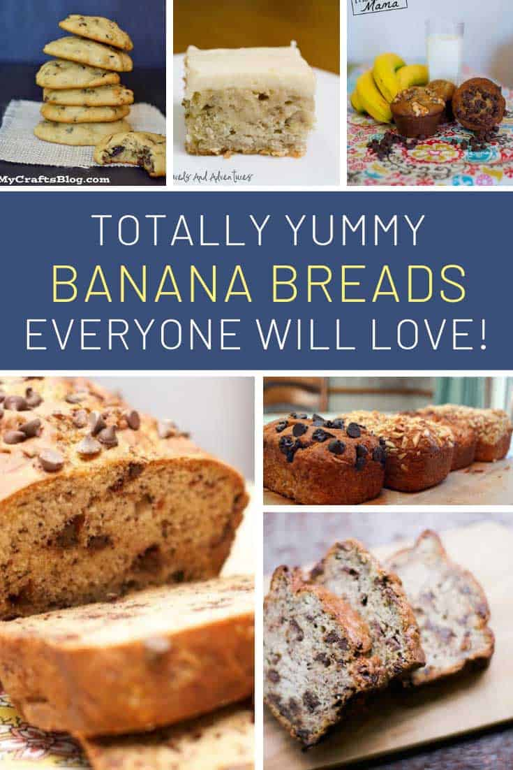 These simple banana bread desserts taste great!