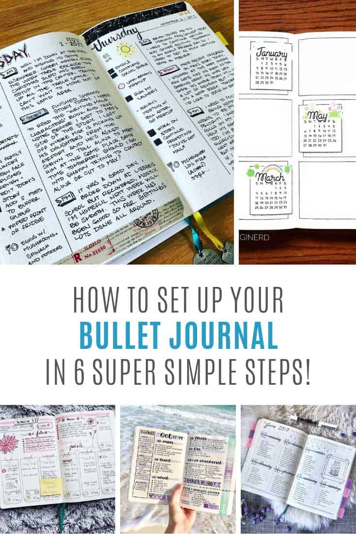 Finally! A simple bullet journal setup guide to help me get started!