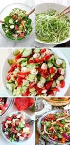 Simple Cucumber Salad Recipes