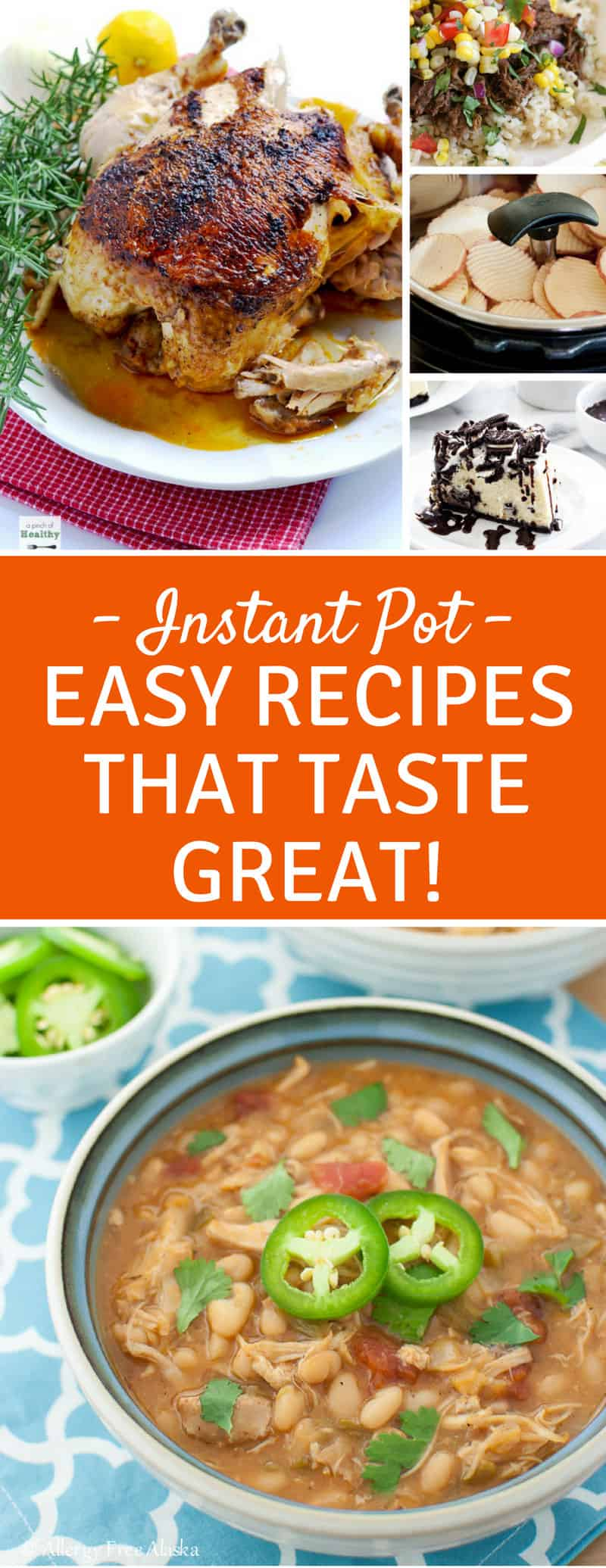 Simple Instant Pot Recipes - There are so many great recipes for you to add to your meal plan!