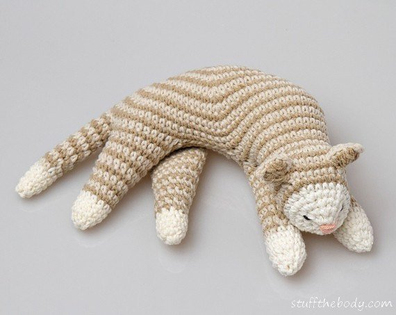 Sleepy Cat Amigurumi Pattern