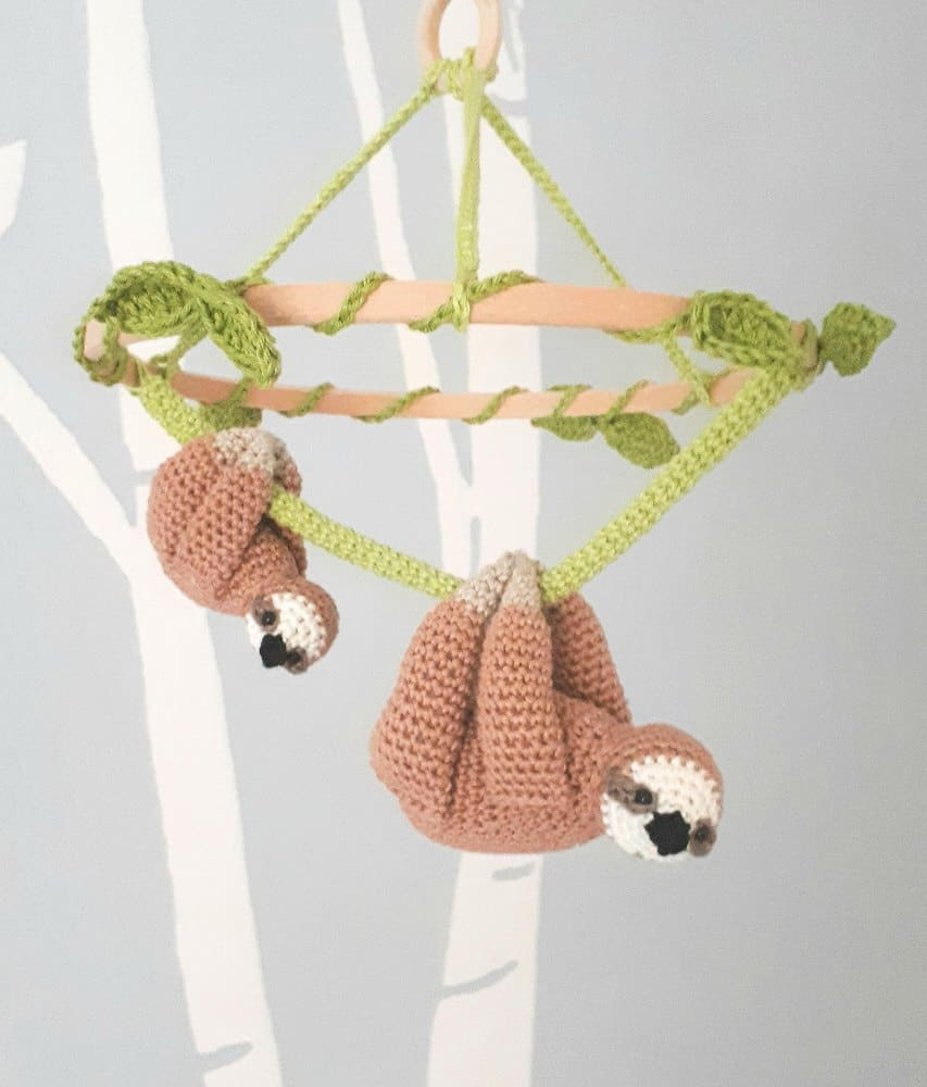 Sloth Crib Mobile