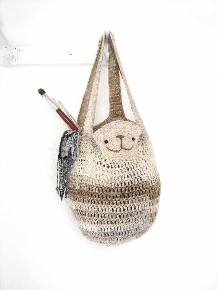 Sloth Crochet bag