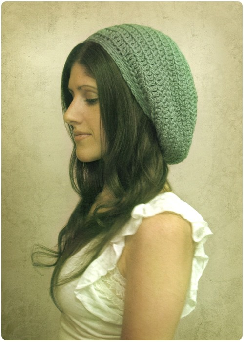 Slouch Hat Crochet Pattern for Beginners Gleeful Things