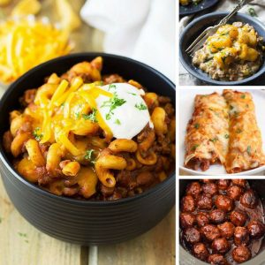 Yum! These slow cooker beef recipes are totally comforting and delicious!