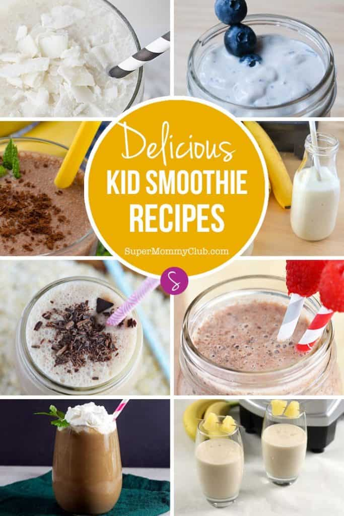 If your child sees fruit and runs the other way check out these delicious smoothies for kids recipes. They'll be loaded up with fruit before you know it!  Smoothies are perfect for breakfast because they are packed full of fruit goodness, vitamins and calcium, and even if your kids are dairy free there are still plenty of recipes to choose from. And making these healthy kid friendly recipes at home is so much cheaper than buying them from the store.