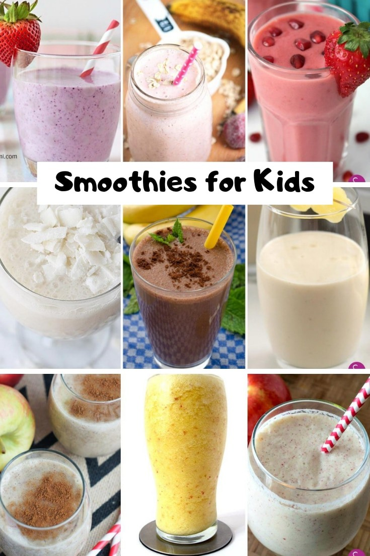 These smoothies for kids are perfect for toddlers who won't eat!