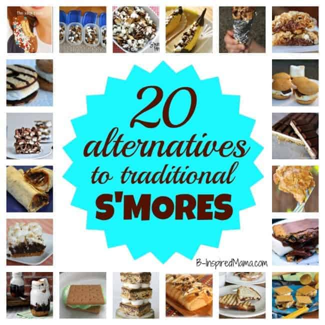 20 Alternatives to Traditional Smores