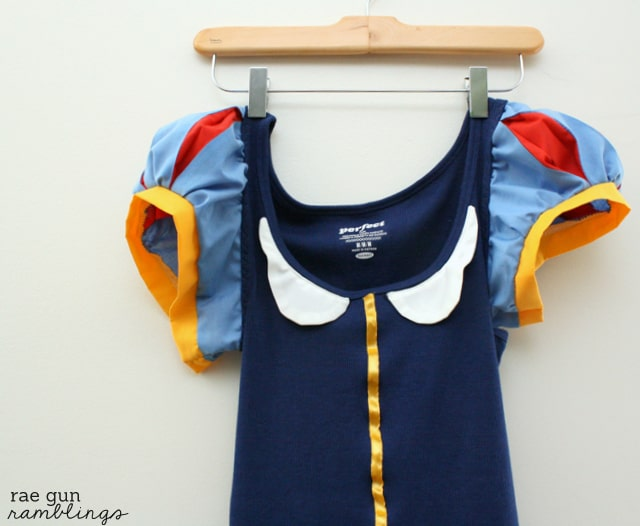 Snow White Shirt Tutorial