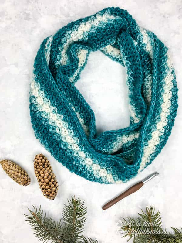 Snowball Infinity Scarf