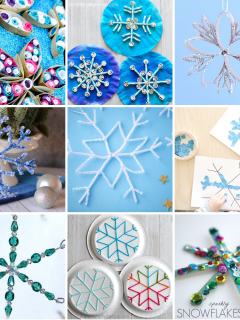 Easy Snowflake Crafts for Kids - Snow Day Projects to Make at Home