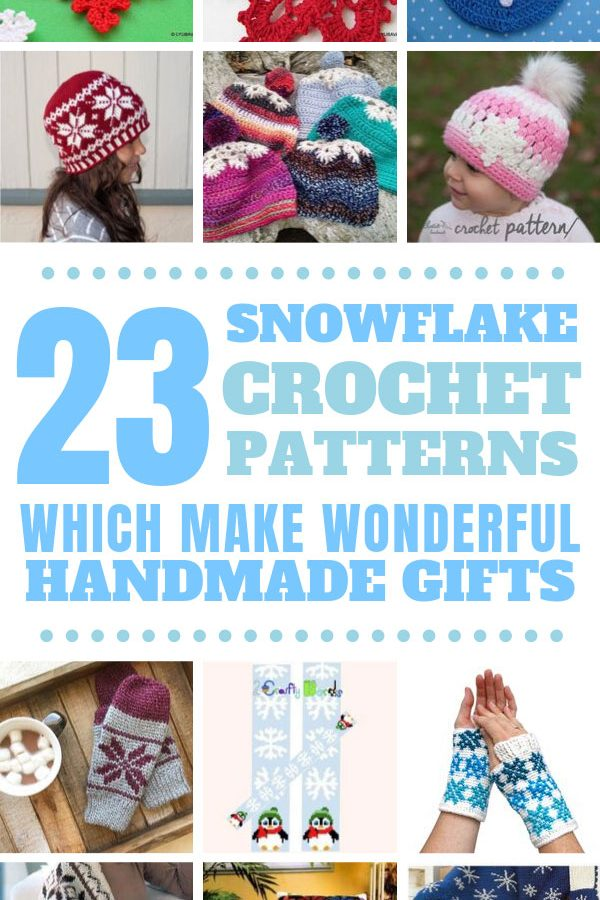 Wow! So many gorgeous snowflake crochet patterns to work on for the winter. Perfect for home decor or handmade gifts for friends and family. #crochet #winter #christmas