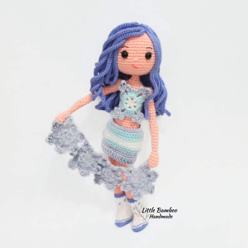 Snowflake Winter Doll