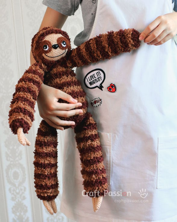 Sock Sloth Plushie