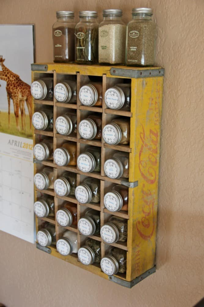 Vintage Coca-Cola Crate Spice Rack – BROhaha