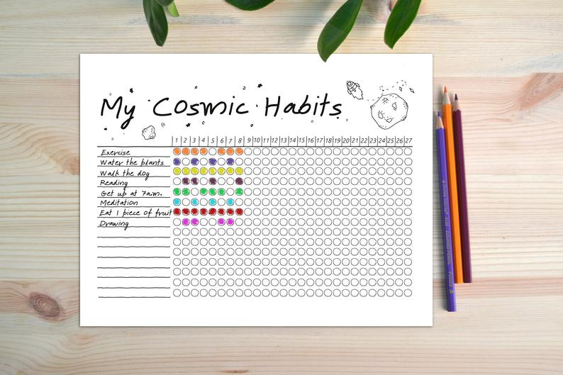Cosmic Habit Tracker