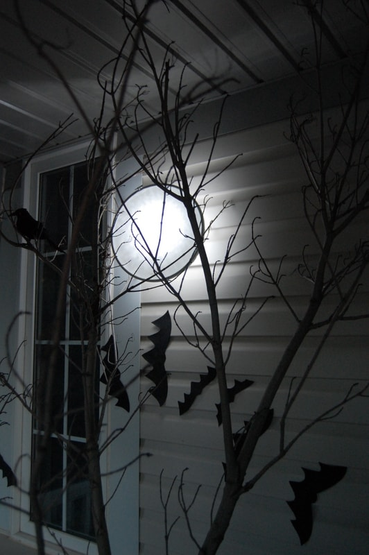 Spooky DIY Moon