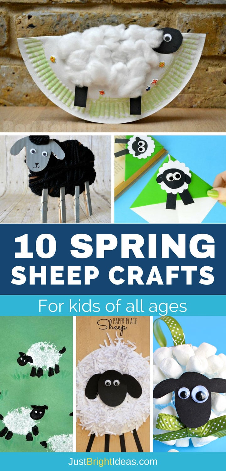 Spring Sheep Crafts for Kids - Pinterest