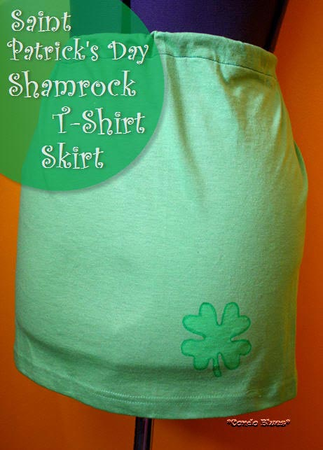 Saint Patrick's Day Shamrock Skirt - Condo Blues