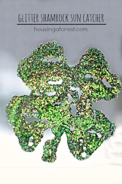 Glitter Shamrock ~ Housing A Forest