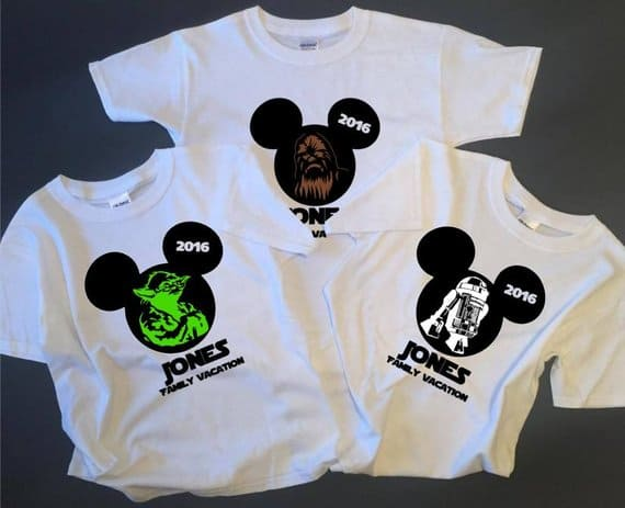 Star Wars Family Disney Shirts