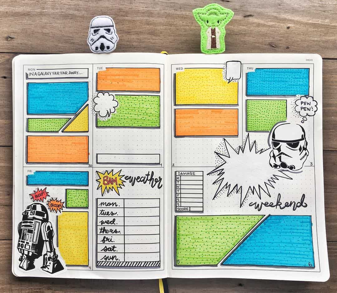 Star Wars Spread