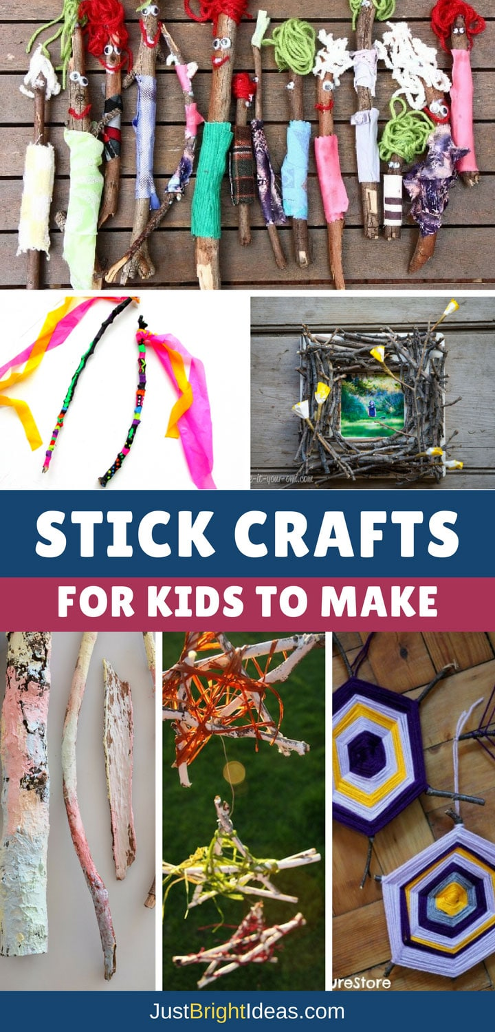 Stick Crafts for Kids - Pinterest