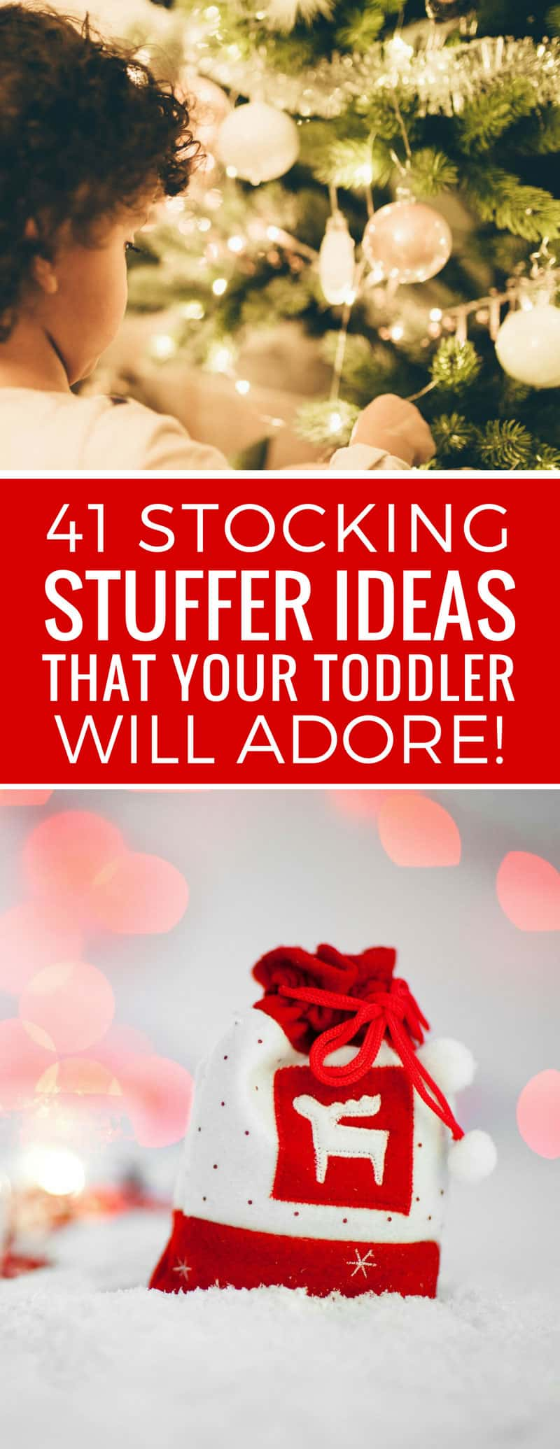 Loving this list of stocking stuffers for toddlers - the perfect way to start Christmas Day! Thanks for sharing!