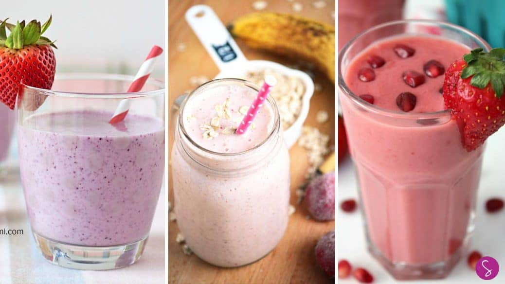 Strawberry Smoothie Recipes for Kids