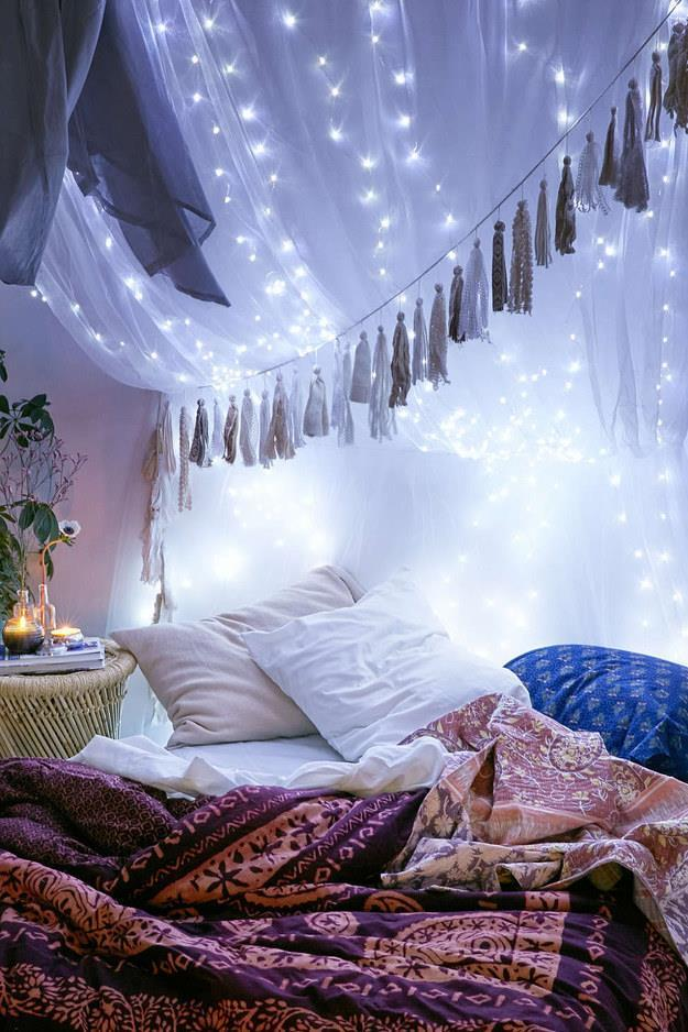 Light Up Your Bed Canopy